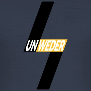 Unweder - Slim Fit T-shirt herr