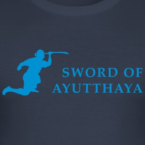 Sword of Ayutthaya - Slim Fit T-skjorte for menn