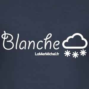 Blanche SNOW - Männer Slim Fit T-Shirt