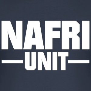 Nafri Unit - Männer Slim Fit T-Shirt