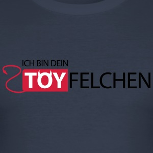 Jeg er din Teufelchen - Slim Fit T-skjorte for menn