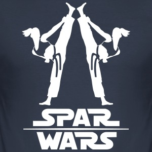 Flickor Spar Wars - Slim Fit T-shirt herr