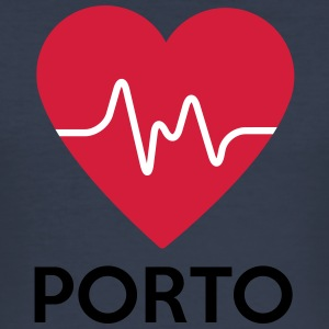heart Porto - Men's Slim Fit T-Shirt