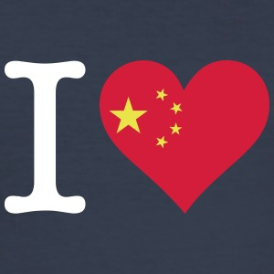I Love China - Men's Slim Fit T-Shirt