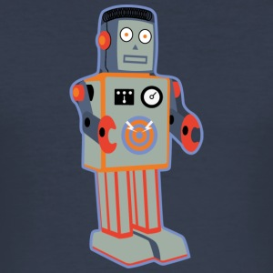 Patch_Robot - Slim Fit T-skjorte for menn