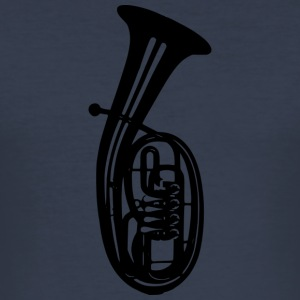 tenor-horn - Slim Fit T-shirt herr