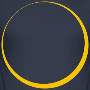 ECLIPSE - Yellow Sun - Men's Slim Fit T-Shirt