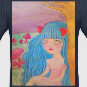 pastel hair - slim fit T-shirt