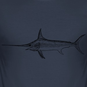 Sværdfisk - Swordfish - Herre Slim Fit T-Shirt