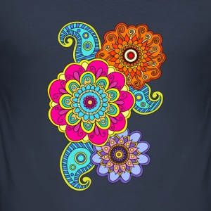 mandala composition - Men's Slim Fit T-Shirt