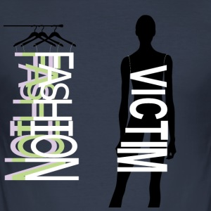 Fashion Victim - Men's Slim Fit T-Shirt