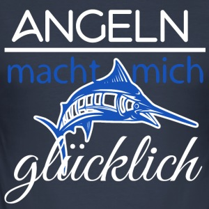 Fisherman_Design-1 - Männer Slim Fit T-Shirt