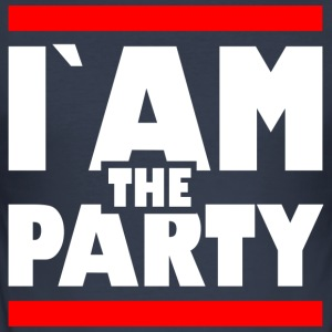 Iam the party1 - Männer Slim Fit T-Shirt