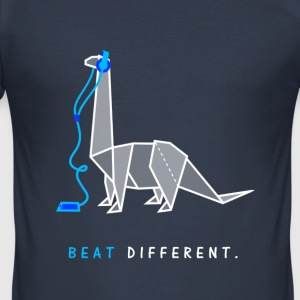 Beat different - Männer Slim Fit T-Shirt