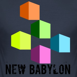 New Babylon - Männer Slim Fit T-Shirt