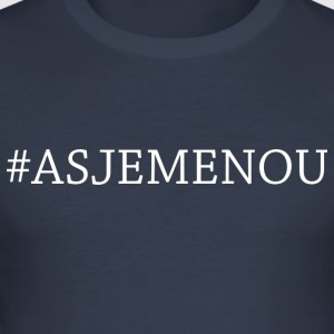 asjemenou - slim fit T-shirt