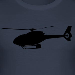 helikopter 120 - Slim Fit T-shirt herr