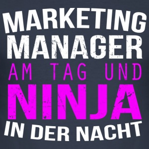 Marketing Manager - Männer Slim Fit T-Shirt