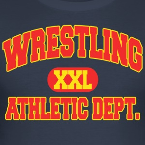 Wrestling Athletic Department - Slim Fit T-skjorte for menn