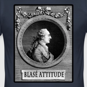 blaseattitude - Slim Fit T-skjorte for menn