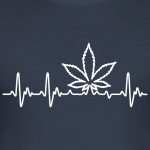 Weedlove - Tee shirt près du corps Homme