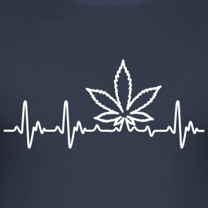 Weedlove - Herre Slim Fit T-Shirt