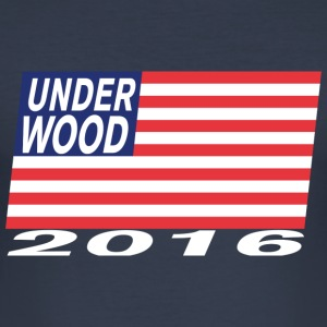 Underwood for President 2016 - Camiseta ajustada hombre