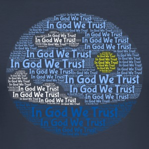 In God We Trust with Tagul Style - Men's Slim Fit T-Shirt