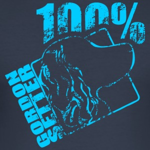 GORDON SETTER 100 - Slim Fit T-skjorte for menn