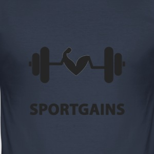 Sport winsten - slim fit T-shirt