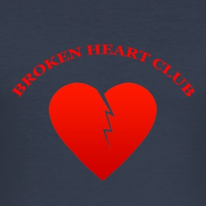 Broken Heart Club - Slim Fit T-shirt herr