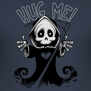 Hug Me - Grim Reaper - Men's Slim Fit T-Shirt