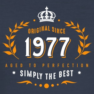 original since 1977 simply the best 40th birthday - Men's Slim Fit T-Shirt