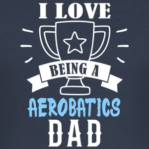 aerobatics Dad - slim fit T-shirt