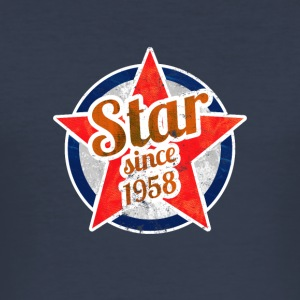 Gift for Stars born in 1958 - Men's Slim Fit T-Shirt