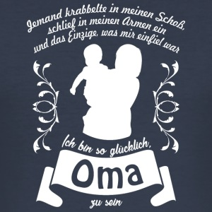 Oma - Männer Slim Fit T-Shirt