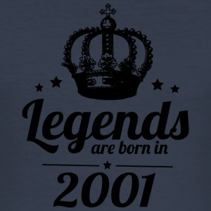 Legends 2001 - Men's Slim Fit T-Shirt