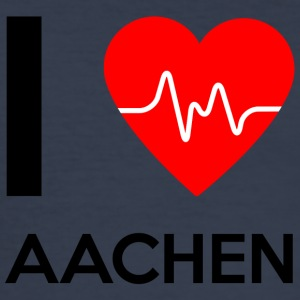 I Love Aachen - I Love Aachen - Men's Slim Fit T-Shirt