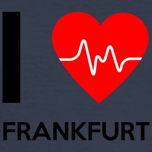 I Love Frankfurt - I Love Frankfurt - Slim Fit T-skjorte for menn