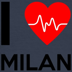 I Love Milan - I Love Milan - Slim Fit T-skjorte for menn