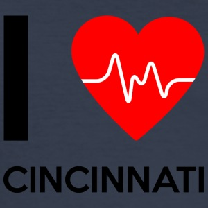 I Love Cincinnati - I love Cincinnati - Men's Slim Fit T-Shirt