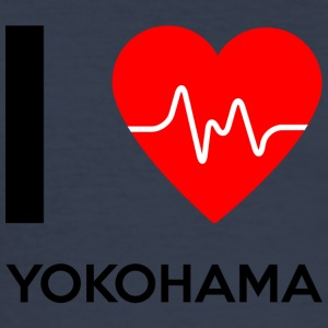 I Love Yokohama - I love Yokohama - Men's Slim Fit T-Shirt