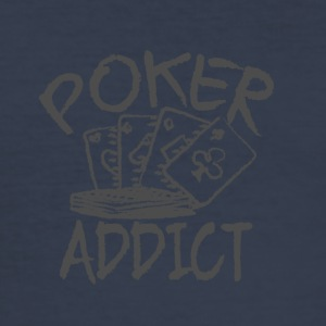 Poker vanedannende - Herre Slim Fit T-Shirt