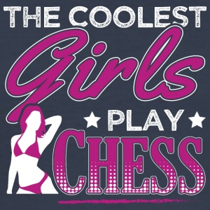 Fedeste GIRLS PLAYCHESS - Herre Slim Fit T-Shirt