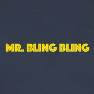 bling bling - Slim Fit T-skjorte for menn