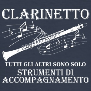 Clarinetto - Männer Slim Fit T-Shirt