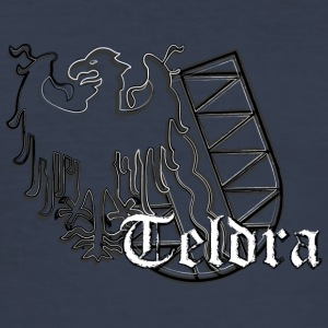 teldra - Herre Slim Fit T-Shirt