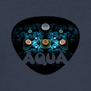 apophysis aqua - slim fit T-shirt