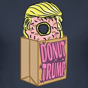 Donut donut Trump - Men's Slim Fit T-Shirt