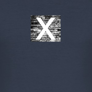 Brick x - Männer Slim Fit T-Shirt